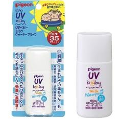 Kem chống nắng cho bé Pigeon UV Baby Milk waterproof SPF35/PA+++ 30g