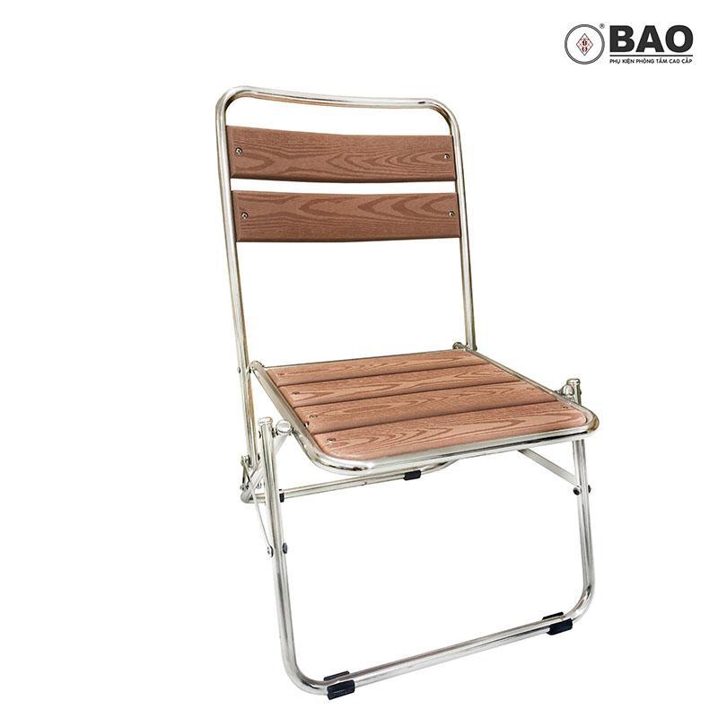 Ghế xếp Inox BAO - GXB004 (Inox 304)