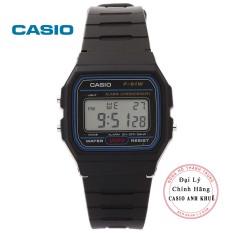 Đồng hồ nam Casio F-91W-1DG dây nhựa