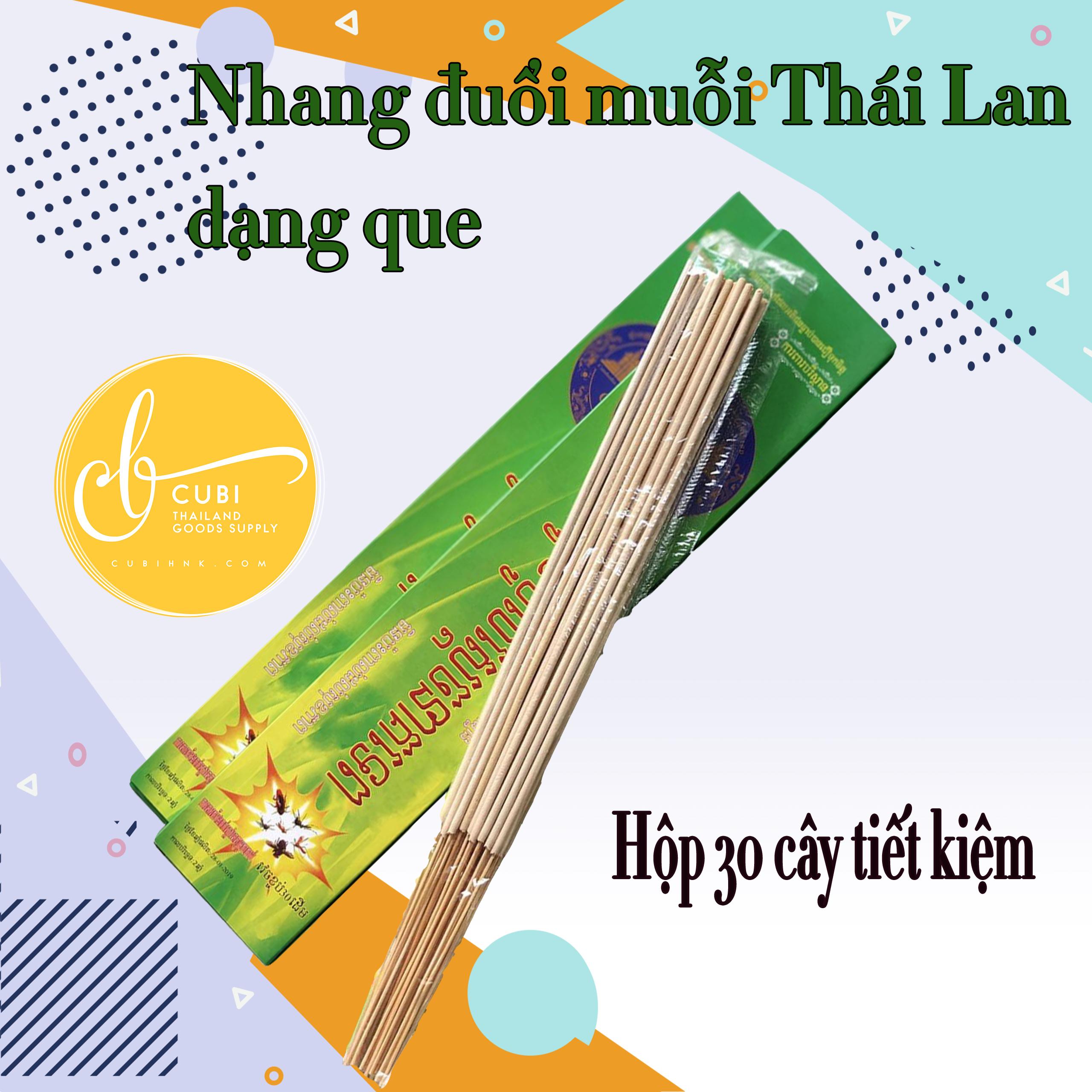 [Hộp 30 cây] Nhang muỗi Thái Lan