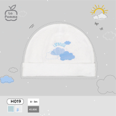 H019 Mũ sơ sinh La Pomme Đám mây