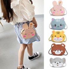 Túi đeo chéo mini cho bé gái FUHA, túi hình thú hoạt hình xinh xắn dễ thương bé 1 đến 10 tuổi