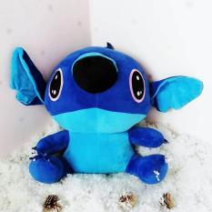 Stitch Gấu bông stitch xanh dễ thương size trung (20cm) thú bông stitch đồ chơi gấu stitch nhồi bông dễ thương