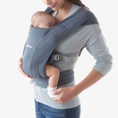 Địu Em Bé Ergobaby Embrace Newborn Carrier Địu Vải Siêu Mềm Cho Trẻ Sơ Sinh Đến 11kg