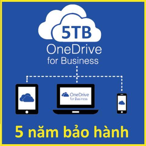 TK Onedrive 5TB - Vĩnh Viễn - Bảo hành 5 năm