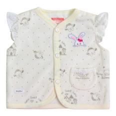 Áo ghile nhung bé gái AN1039 – HELLO BB (hình thêu ngẫu nhiên)