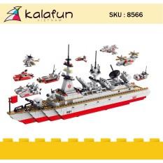 Đồ chơi lắp ráp lego, đồ chơi trẻ em Tàu chiến tuần dương Lele Brother 8566
