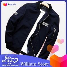 Áo khoác kaki Hàn Quốc nam nữ 2 lớp – Khoác bomber giữ ấm William's Store – TH112