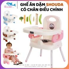 Ghế ăn dặm gấp gọn cho bé Loại I có 2 nấc điều chỉnh, ghế ăn dặm Shoda , dễ dàng vệ sinh