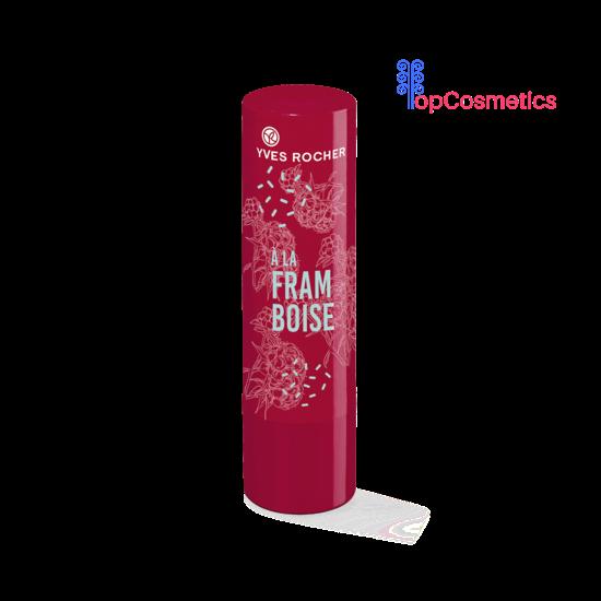 Son Dưỡng Môi Yves Rocher Mâm Xôi Raspberry Tinted Lip Balm 4,8g Topcosmetics