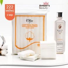 Bông tẩy trang 222 miếng – cotton pads chính hãng – BTT03