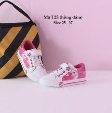 Giày thể thao bé gái Elesa hồng xinh xắn êm mềm nhẹ