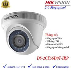 Camera hồng ngoại thông minh HD-TVI Hikvision DS-2CE56D0T-IRP hồng ngoại 20m 2MP HD1080p, cảm biến CMOS 2MP