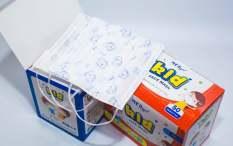 hộp khẩu trang y tế trẻ em Medger Kid Face Mask chất lượng chuẩn Châu Âu ( 1 hộp 50 cái )