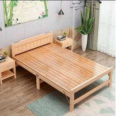 Giường xếp gỗ thông cỡ đại