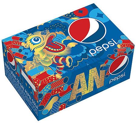 Thùng Pepsi Lon 330ml X 24 Lon