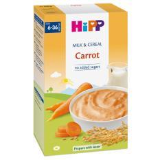 [FREESHIP] Bột sữa và rau củ dinh dưỡng HiPP – cà rốt 250g