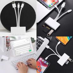 Đầu đọc thẻ nhớ OTG cho điện thoại iphone ipad samsung oppo laptop