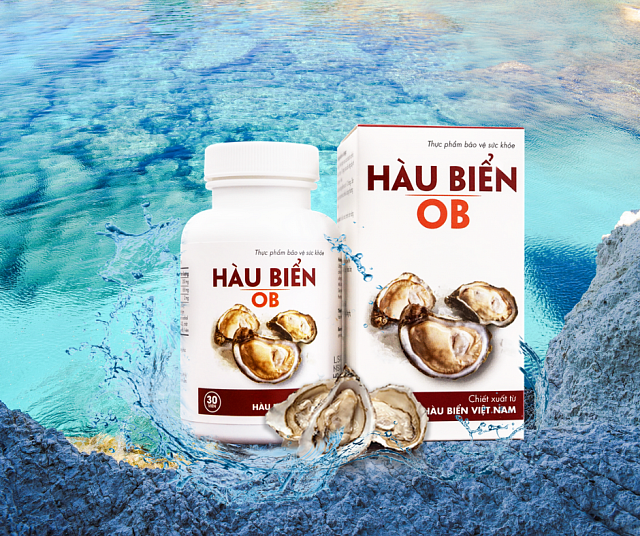 Hàu Biển OB – Cải Thiện Sinh Lý Nam, Kéo Dài Thời Gian Quan Hệ, Dứt Điểm Xuất Tinh Sớm, Tăng Cường Testosterone Nội Sinh ( Hộp 30 viên )