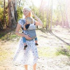Địu 4 tư thế có đỡ cổ trợ lực Ergo baby 4 Position 360 Baby Carrier cho bé từ 3 tháng đến 3 tuổi