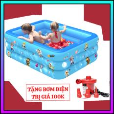 Hồ bơi, bể bơi, ho boi cho be, bể bơi cho bé, hồ bơi trẻ em, phao bơi cho bé, bể bơi bơm hơi, bể bơi mini gia đình, Bể bơi phao, bể bơi bơm hơi cho bé – Loại dày TẶNG Miếng Vá Dự Phòng – Tạo niềm tin, xây chất lượng