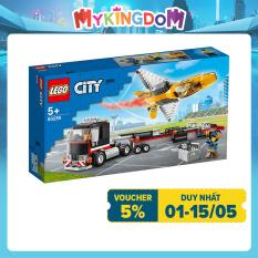 MYKINGDOM – LEGO CITY Xe Vận Chuyển Máy Bay Phản Lực 60289