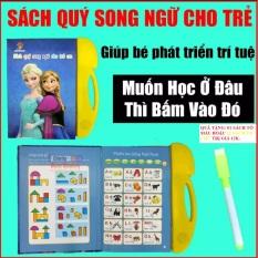 Sách nói điện tử song ngữ Anh-Việt (TẶNG KÈM 01 SÁCH TÔ MÀU HOẶC TÔ CHỮ CHO BÉ TRỊ GIÁ 12K)