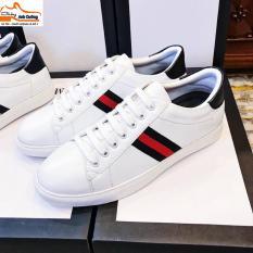Giày thể thao nam màu trắng đẹp
