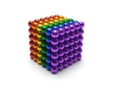 [Buckyballs] Bi Nam Châm 5mm gồm 216 viên Bi Nam Châm Xếp Hình lực hút cực mạnh màu sắc tươi sáng và đẹp mắt giúp kích thích khả năng sáng tạo và tư duy