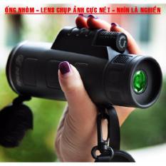 Ống nhòm du lịch 1 mắt siêu nét, (Tặng kẹp điện thoại) quan sát chụp ảnh quay phim cực nét từ xa nhỏ gọn giá hấp dẫn, Hỗ trợ sau bán hàng uy tín.