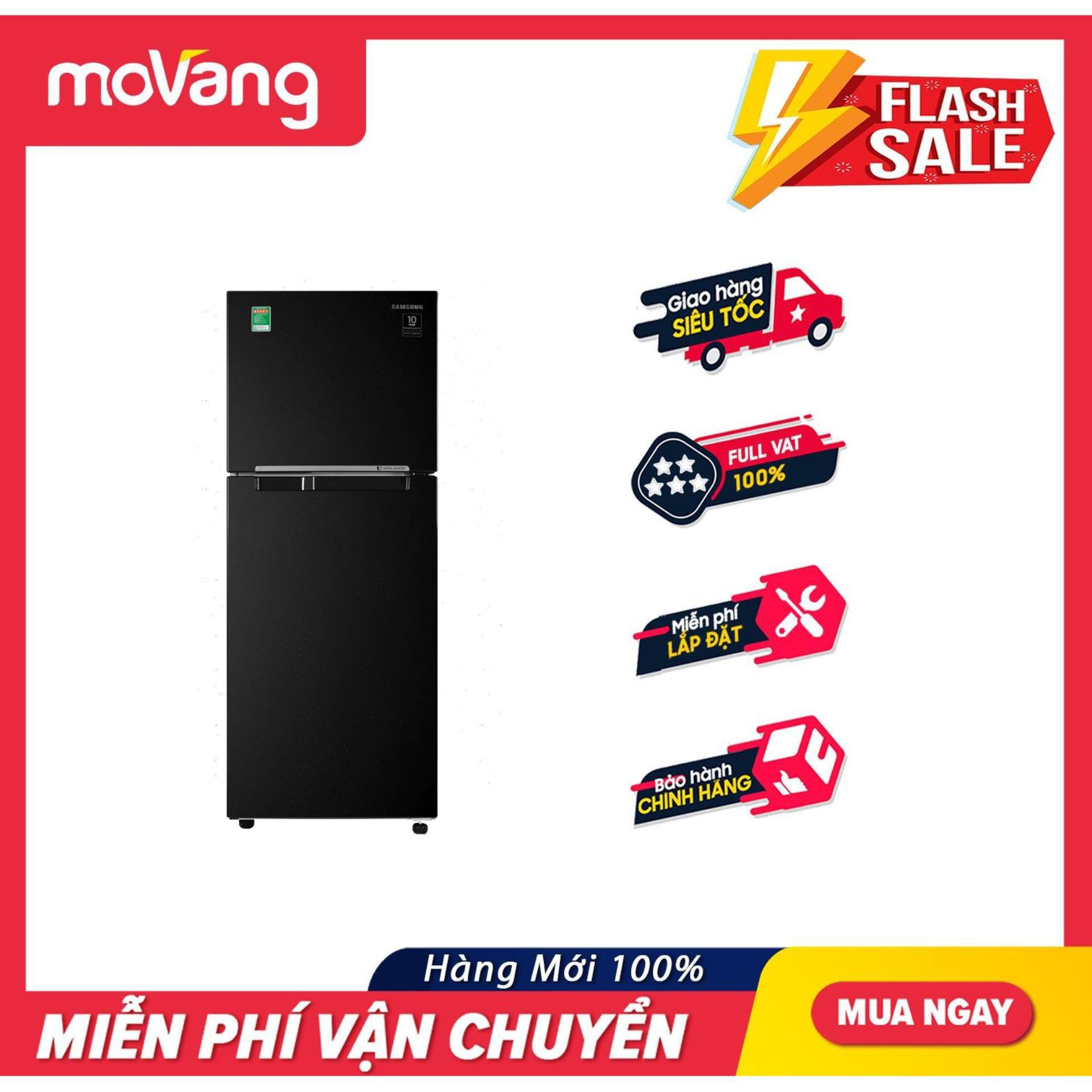 [HCM][TRẢ GÓP 0%] Tủ lạnh Samsung Inverter 236 lít RT22M4032BU/SV - Dung tích 236 lít Công nghệ Inverter