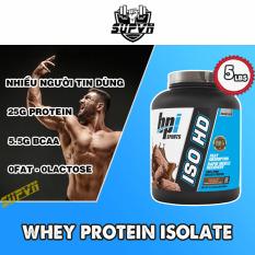 Whey Iso HD Bpi 5lbs Sữa tăng cơ bắp Whey Isolate Protein 100% – ISOHD Bpi sport