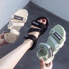 Sandal nữ FS-RAW – thiết kế quai ngang, đế bằng năng động, chất liệu dây chắc chắn, đế bánh mì mềm, êm, phong cách hàn quốc, sử dụng đi học, đi chơi hay dạo phố đều được, là mẫu dép quai hậu hot mùa hè 2020