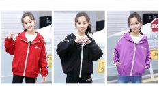 áo khoác trẻ em unisex , áo khoác gió bé gái từ 13 đến 42kg D316