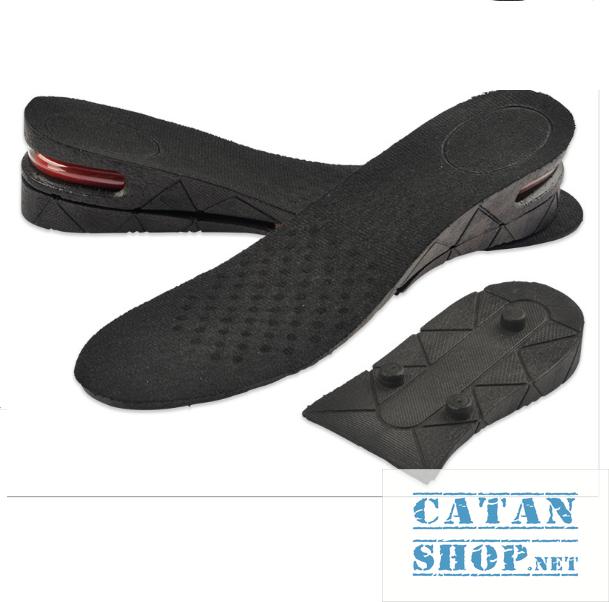 Combo 4 miếng lót đế giày tăng chiều cao Air có đệm khí siêu êm ái, giày đế cao, giày độn gót LGIAYTCC-Air