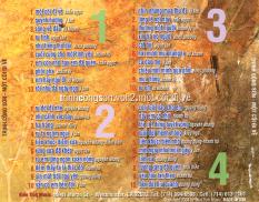 Đĩa CD Nhạc Trịnh Công Sơn – Một Cõi Đi Về – 4CD