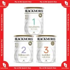 Sữa Blackmores Úc số 1 / 2 / 3, 900g – [HÀNG CHÍNH HÃNG – CÓ TEM PHỤ TIẾNG VIỆT] – Sữa giúp trẻ tăng cân và tăng chiều cao tốt – Hỗ trợ phát triển trí não tối ưu