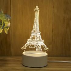 Đèn ngủ LED 3D – trang trí bàn – quà tặng độc đáo. Thay đổi màu bằng cách tắt bật lại đèn. Sản phẩm thích hợp làm quà tặng độc đáo