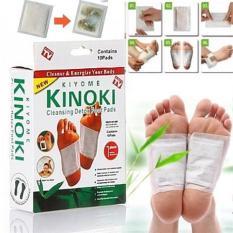COMBO 20 Miếng dán chân giải độc massage chân Kinoki NHẬT BẢN (20 miếng/2 hộp)