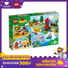 LEGO DUPLO 10907 Thế Giới Động Vật Hoang Giã ( 121 Chi tiết) Đồ chơi lắp ráp động vật