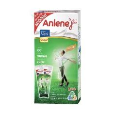Hộp Sữa bột Anlene Gold Movepro Gói Tiện Lợi dành cho người trên 40 tuổi (140g/04 gói/hộp)