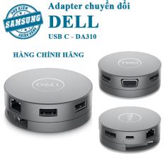 [Dell DA310] Bộ chuyển đổi Dell DA310 Từ USB C to HDMI/VGA/DP/Ethernet/USBC/USB-A