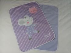 Lót chống thấm 50*70cm Goodmama mềm mại và thân thiện với nhiều mẫu cho bé