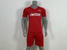 Quần áo bóng đá CLB VIETTEL 21-22 màu Đỏ