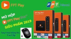 FPT Play box 2019 + Remote Voice + Chuột Không Dây