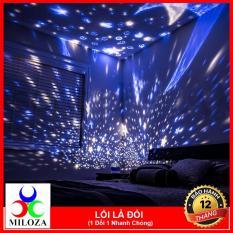 [XẢ KHO 3 NGÀY] Đèn trang trí – Đèn chiếu sao xoay – Đèn Ngủ – Đèn phòng hát – Đèn Karaoke – MILOZA – Tặng kèm 1 dây sạc trong hộp đèn