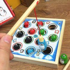 Bộ đồ chơi câu chim cánh cụt, sản phẩm tốt, chất lượng cao, cam kết như hình, độ bền cao