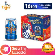 Thùng bia Tiger 16 lon 330ml – Chỉ bán Online – Số lượng có hạn