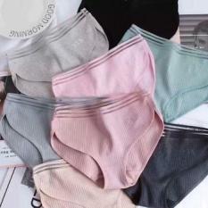 Combo 10 quần Lót Muji Tăm Tre 3 Đường Kẻ Xuất Nhật Siêu Mát