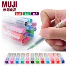 Bút bi gel Muji Nhật Bản cỡ 0.38mm